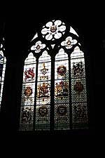 Window at Westminster Abbey